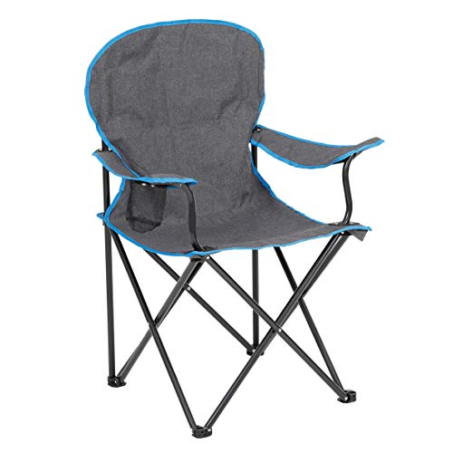 greemotion Lido Silla de Camping Plegable, Gris