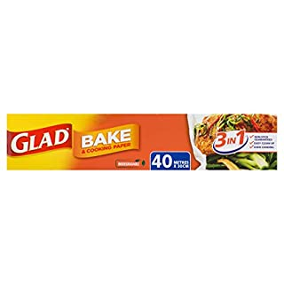 Glad Bake and Cooking Paper, 40 Metre Length (B07PSTFZYN)   Amazon price tracker / tracking, Amazon price history charts, Amazon price watches, Amazon price drop alerts