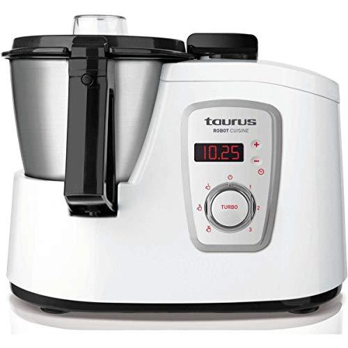 Taurus Robot Cuisine - Robot 925008 de cocina multifunción, color blanco