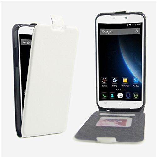 NEKOYA DOOGEE X6 Hülle,DOOGEE X6 Lederhülle,Handyhülle im Brieftasche-Stil für DOOGEE X6.Schutzhülle mit [TPU Innenschale] [Standfunktion] [Kartenfach] [Magnetverschluss]