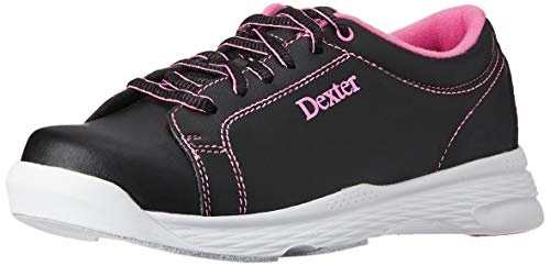Dexter Womens Raquel V Bowling Shoes- 9 1/2, Black/Pink, 9.5