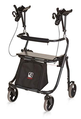 FabaCare Arthritis Rollator XXL mit Unterarmauflagen Jumbo 150 Yano, faltbar, höhenverstellbar, made in Germany, bis 150 kg