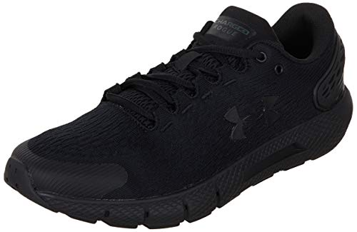 Under Armour Women's Charged Rogue 2 Running Shoe, Black (001)/Black, 10.5