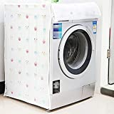 SVK Dream Washing Machine Cover Suitable for Front Load Washing Machines (Color and Design May Vary) (63 cm X 58 cm X 85 cm)