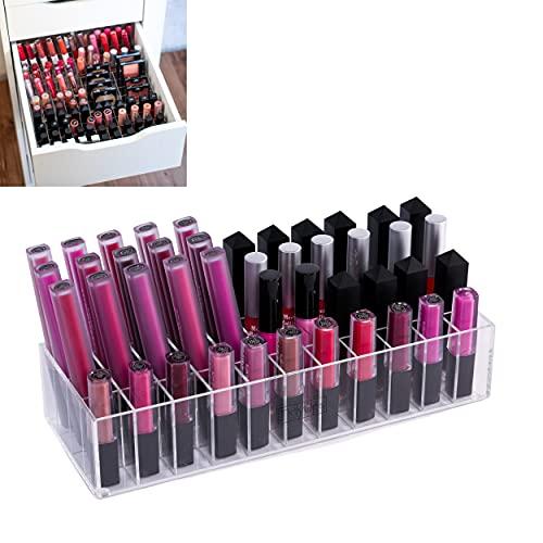 TidyUps One for Glosses | Organizador de maquillaje adecuado para IKEA Alex 5 o 9 | para brillo de labios y más