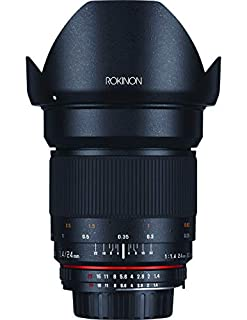 Rokinon 24mm F/1.4 Aspherical Wide Angle Lens for Nikon with Automatic AE Chip for Auto Aperture, Auto Exposure and Focus Confirmation RK24MAF-N (B006YM9KXQ) | Amazon price tracker / tracking, Amazon price history charts, Amazon price watches, Amazon price drop alerts