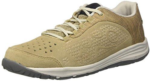 Jack Wolfskin SEVEN WONDERS LOW W, Damen Sneaker, Beige (sand dune), 38 EU (5 UK)