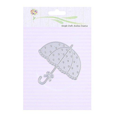 LJKsgU DIY Regenschirm Schneidwerkzeuge Schablonen Scrapbooking Prägung Papier Karte Dekor (06)
