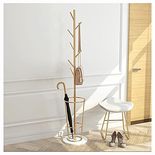 LZL Árbol del Bastidor de la Capa de Metal  Chaqueta y suéter Soporte Colgante  Conjunto fácil  Diseño Elegante para el hogar o la Sala de Oficina y la Entrada (Color : B)
