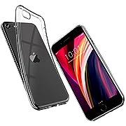 UNBREAKcable Coque Se 2020,Coque iPhone 7,Coque iPhone 8 Transparente [ Anti-Chocs & Anti-dérapante ] Housse Etui de Protection en Souple Silicone Bumper,Ultra Mince TPU Cover Case - Liquid Crystal