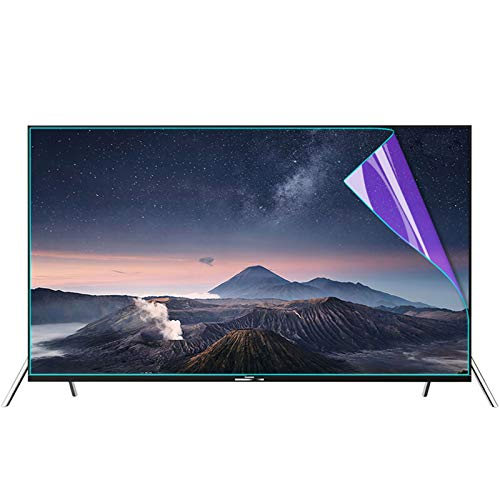 ZWYSL 32-75 inch TV Screen Protector - Anti-Glare Anti-Scratch Anti Blue Light Protector Film for LCD, LED, 4K OLED & QLED HDTV Displays (Color : Matte Version, Size : 58 inch 1269 * 721mm)