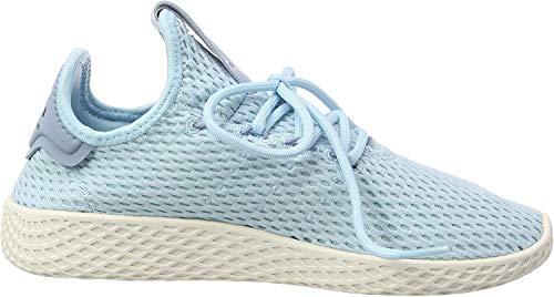 adidas Men's Pw Tennis Hu Fitness Shoes, Blue Azuhie Azuhie Azutac, 10.5 UK