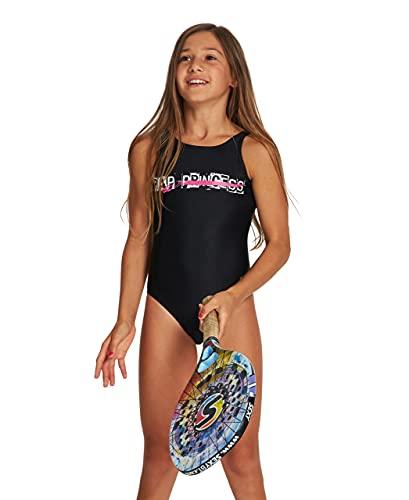 ARENA Mädchen G Meryl Jr One Piece Swimsuit, Black, 164 EU