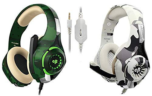 Cosmic Byte GS410 Headphones with Mic and for PS4, Xbox One, Laptop, PC, iPhone and Android Phones&Cosmic Byte GS410 Headphones with Mic and for PS4, Xbox One, Laptop, PC, iPhone and Android Phones (