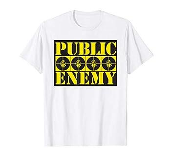 Public Enemy Official 4 Logos White T-Shirt