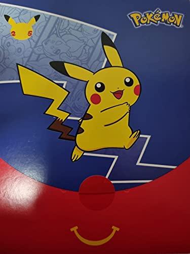 5665 Pokémon McDonalds Promo Booster Pack McDonalds 25th Anniversary