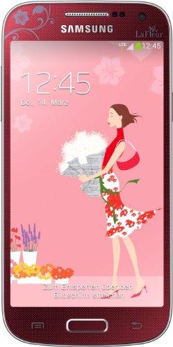 Samsung Galaxy S4 mini Smartphone (10,85 cm (4.27 Zoll) AMOLED-Touchscreen, Micro-Sim, 8 GB interner Speicher, 8 Megapixel Kamera, LTE, NFC, Android 4.2) la fleur