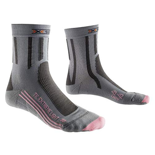 X-SOCKS - Chaussettes Trek Xtrem Light Femme 41/42 - Rose