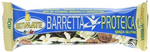Barretta Proteica Vaniglia Cookies - scatola da 24 pz