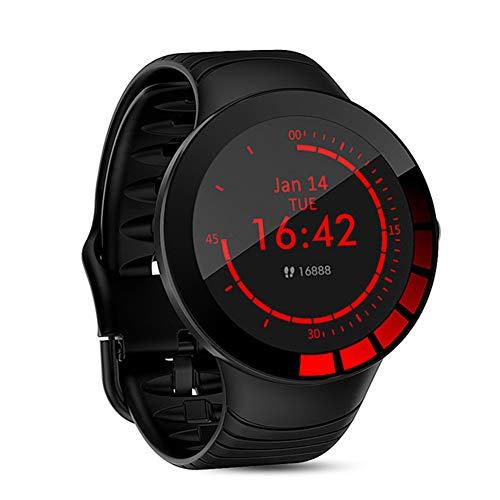 E3 Deportes Inteligente del Reloj De Los Hombres De IP68 A Prueba De Agua De La Pantalla Táctil Completa Correa De Silicona Smartwatch para Android iOS Móvil Rastreador De Ejercicios