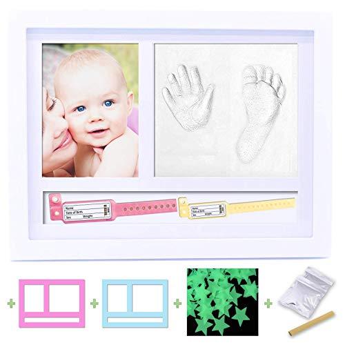 BELF1 Fotolijst Impronte Neonato voor armbanden van Nascita foto set Impronte Bimbi fotolijst met manina en voet van Bebés model 2020