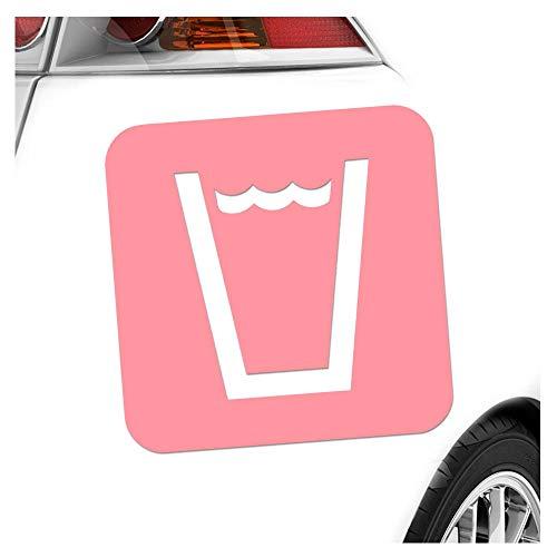 Kiwistar Trinkwassersteller Piktogramme Aufkleber Sticker 25 Farben Neon Matt