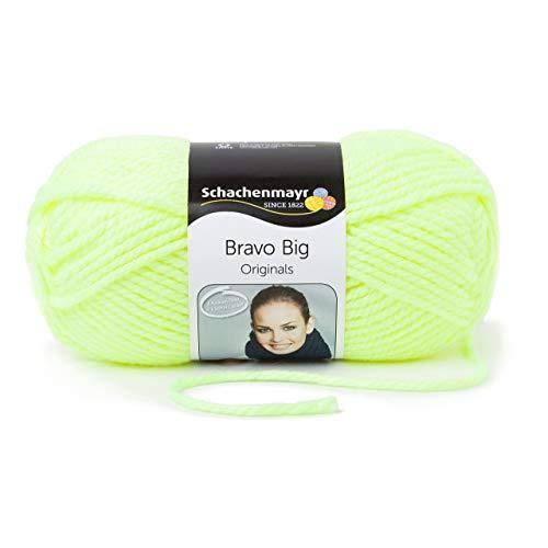Schachenmayr Bravo Big 9807705-08232 neon gelb Handstrickgarn