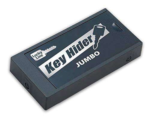 Lucky Line Jumbo-Schlüsselversteck, magnetisch, für größere Schlüssel und Transponder (91501)