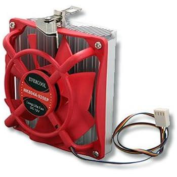 EVERCOOL EC-NK804A-925EP CPU Cooling Fan, Socket 754/939/940/AM2, Aluminum