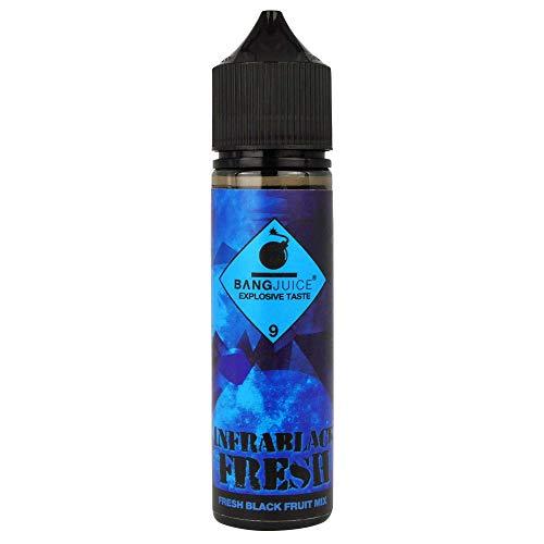 Bang Juice Aromakonzentrat Infrablack Fresh, Shake-and-Vape zum Mischen mit Basisliquid für e-Liquid, 0.0 mg Nikotin, 15 ml
