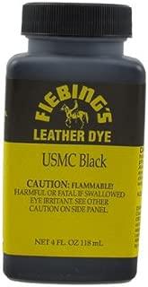 Fiebing's USMC Black Leather Dye 4oz