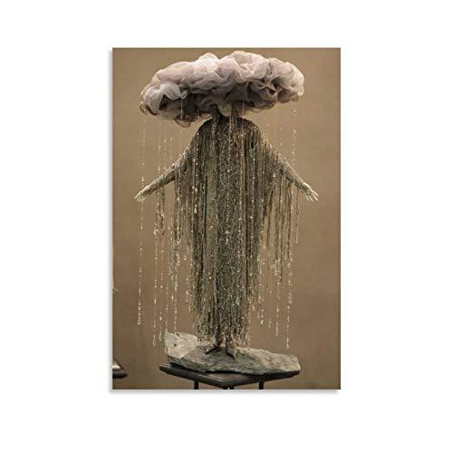 DCVH Pster decorativo para disfraz de hombre de meteorito en huracn, 20 x 30 cm
