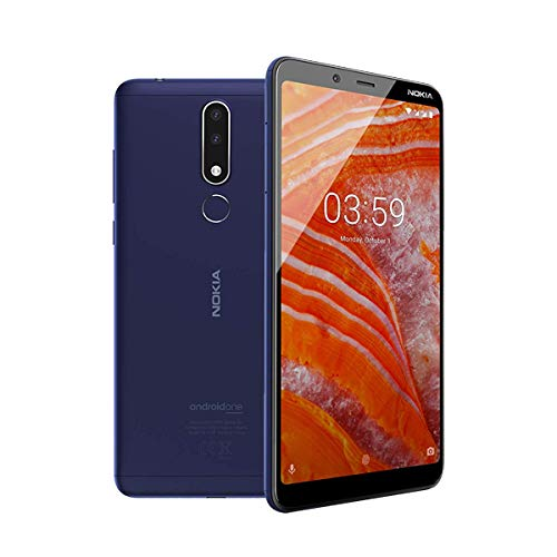 Nokia 3.1 Plus - Smartphone 32GB, 3GB RAM, Dual Sim, Blue