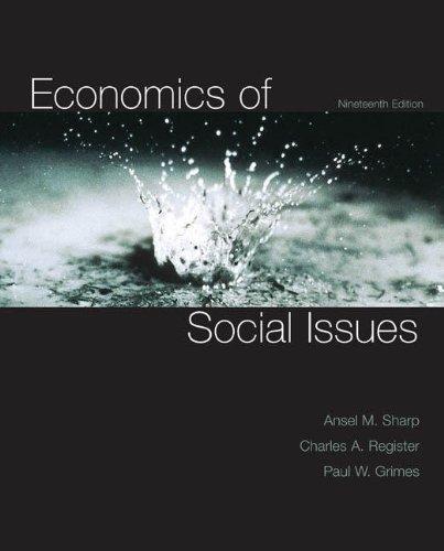 Economics of Social Issues