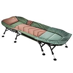 """MK-Angelsport """" 8 ben karp soffan upp till 150kg lastbara – fiske soffa Bedchair trädgård soffa modell 2020"""