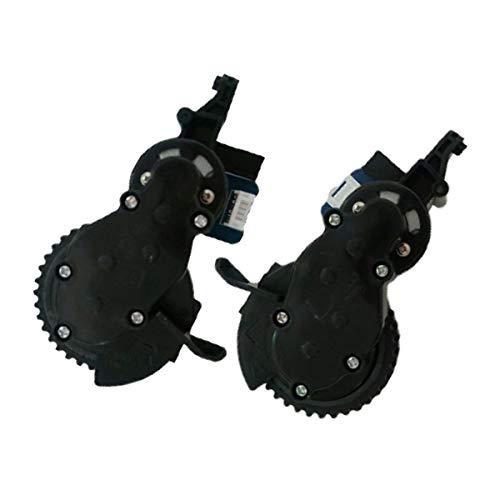 TeKeHom A-Paar Roboter-Staubsaugerrad Links für Proscenic 790T / 780TS / JazZS/Alpaca Plus Ersatzrad rechts (Links + rechts)