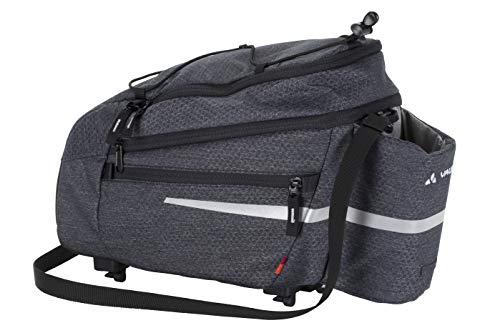 VAUDE Silkroad L Fahrradtasche Gepäckträgertasche 9+2l (Melange, Einheitsgröße)