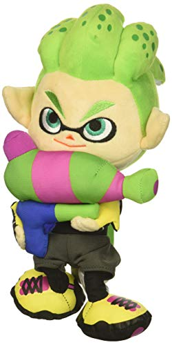 "Little Buddy Splatoon 2 Series Inkling Boy Neon Green Plush, 10"""