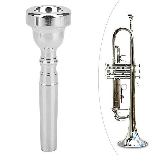 Silber 7C Trompetenmundstück Trompete Arbeitssparendes Zubehör Ersatzteile für Trompetenzubehör(Silber)