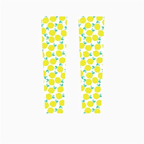 JSBAN Sommer Mädchen Schutzarmärmeln Outdoor Sonnenschutz EIS Seide dünn Reiten Fahren UV-Schutz Handarmärmeln (Color : 11, Size : One Size)