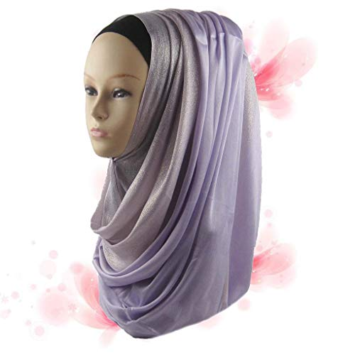 Nieuwe teken Arabische moslim sjaal midden moslim hoofddoek, islamitische Hijab, Glitter moslim Oost Wild Real Shot Wild Veil moslim hoofddoek