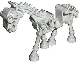 Lego Animal Minifigure: Glow in the Dark Skeleton Horse