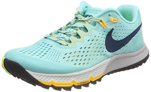 Nike Damen W AIR Zoom Terra Kiger 4 Laufschuhe, Türkis (Rose Aurore/Jade Transparent/orange Laser/bleu Espace), 38 EU