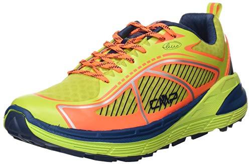 CMP – F.lli Campagnolo Nashira Maxi Shoe, Zapatillas de Trail Running Hombre, Gelb Energy Flash Orange 34ee, 41 EU