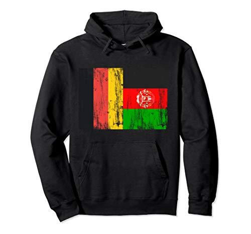 Deutschland und Afghanistan Afghanisch Afghan Fahne Flaggen Pullover Hoodie