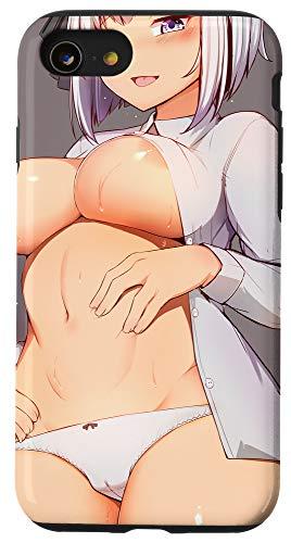 iPhone SE (2020) / 7 / 8 Lewd Anime Girl | Hentai Ahegao Waifu | Otaku Gift Case