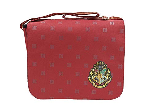 Boys Girls Kids Harry Potter Bags School Rucksack Plush Kit Back Pack Wallet (Messenger Red)