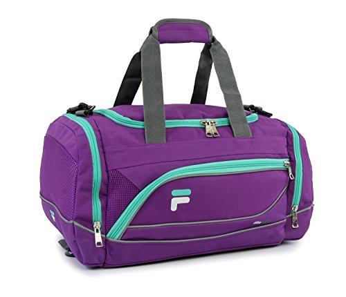 Fila Sprinter 19' Sport Duffel Bag, Purple/Teal - FL-SD-2719-PLTL