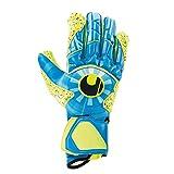 uhlsport Radar Control SUPERGRIP HN Goalkeeper Gloves Size 8.5 Radar Blue/Fluo