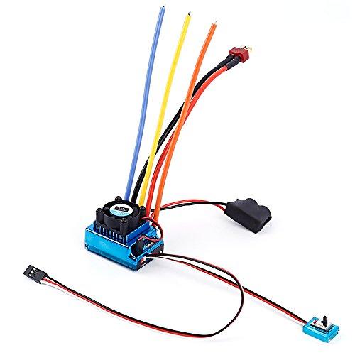 Juguete RC coches piezas 120A eléctrico ESC de Motor sin escobillas Sensored...
